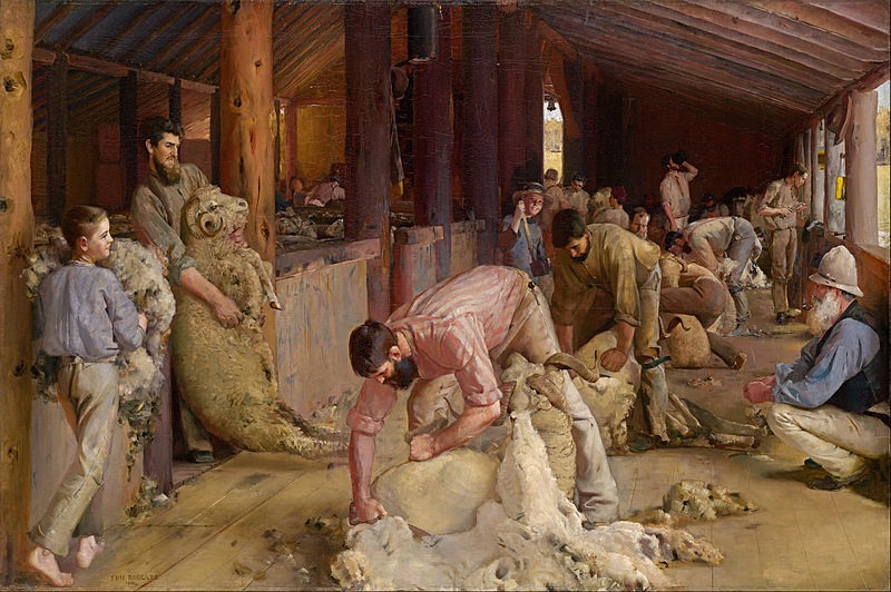 800px-Tom_Roberts_-_Shearing_the_rams_-_Google_Art_Project