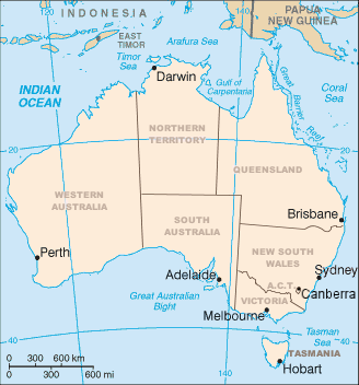 Difference between geography and geology clearlyexplained the geography of australia image wikipedia ccuart Images